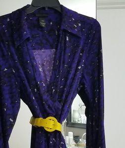 Lane Bryant Faux Wrap Dress